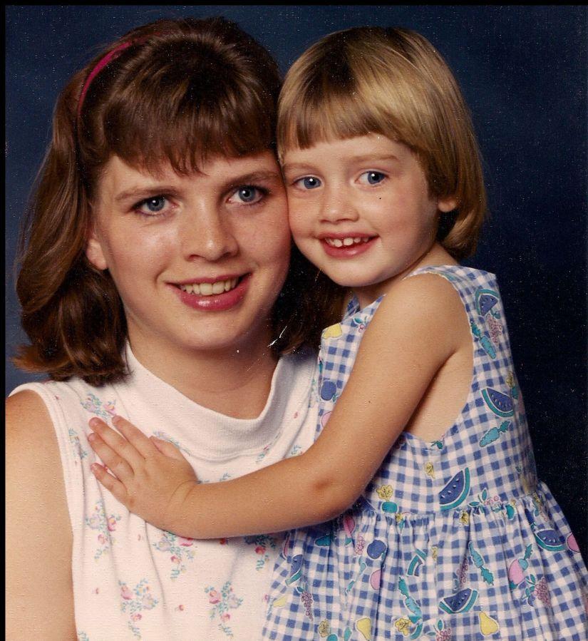 My daughter, Megan, and I