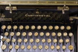 Were novels really written on these machines? Where's the delete key?